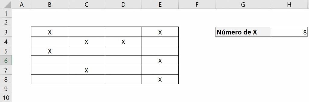 Excel contar.si contar si ejemplo rango